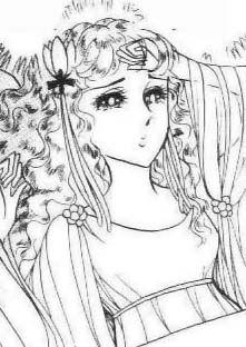 Hình ảnh Carol trắng đen trong bộ truyện Cô gái Sông Nile ( Ouke Monshou ) 尼罗河的女儿; 尼羅河女兒; 王家の紋章; คําสาปฟาโรห์; 왕가의 문장 - Page 5 Q53_zpsfc47913e