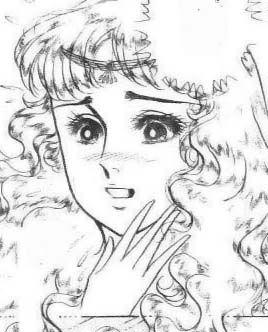 Hình ảnh Carol trắng đen trong bộ truyện Cô gái Sông Nile ( Ouke Monshou ) 尼罗河的女儿; 尼羅河女兒; 王家の紋章; คําสาปฟาโรห์; 왕가의 문장 Q72_zpsf7f05d00