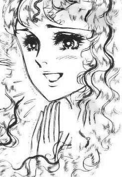 Hình ảnh Carol trắng đen trong bộ truyện Cô gái Sông Nile ( Ouke Monshou ) 尼罗河的女儿; 尼羅河女兒; 王家の紋章; คําสาปฟาโรห์; 왕가의 문장 Q77_zps54f3a0ed