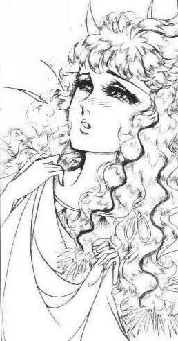 Hình ảnh Carol trắng đen trong bộ truyện Cô gái Sông Nile ( Ouke Monshou ) 尼罗河的女儿; 尼羅河女兒; 王家の紋章; คําสาปฟาโรห์; 왕가의 문장 Q80_zpsef1317e7