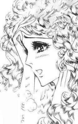 Hình ảnh Carol trắng đen trong bộ truyện Cô gái Sông Nile ( Ouke Monshou ) 尼罗河的女儿; 尼羅河女兒; 王家の紋章; คําสาปฟาโรห์; 왕가의 문장 Q81_zpsea1bf99f