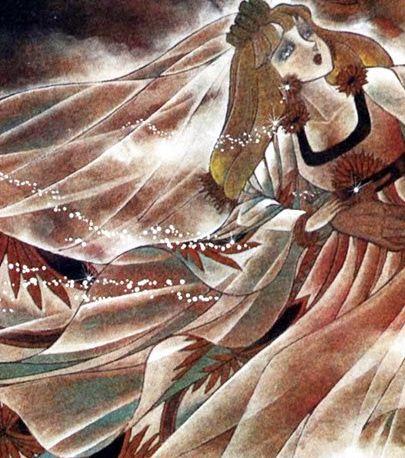 Hình ảnh Carol trắng đen trong bộ truyện Cô gái Sông Nile ( Ouke Monshou ) 尼罗河的女儿; 尼羅河女兒; 王家の紋章; คําสาปฟาโรห์; 왕가의 문장 Q85_zpstvs2fv5z