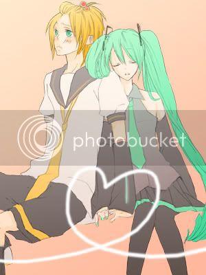 Galería de Miku x Len ♥ 080208