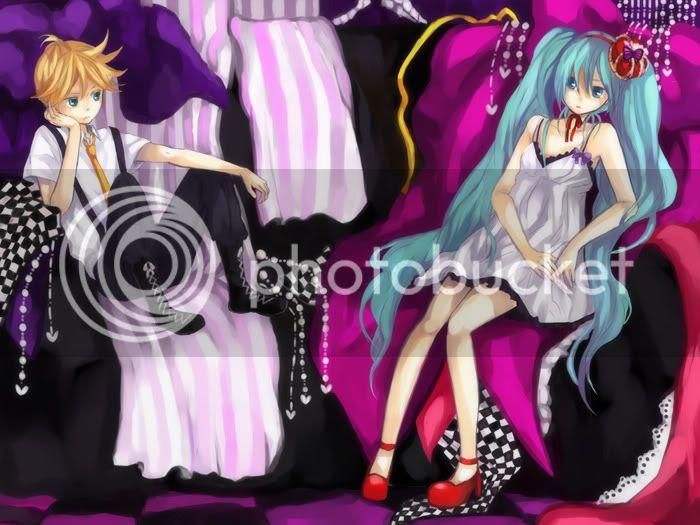 Galería de Miku x Len ♥ 3ty2