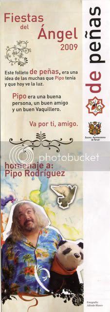 VAQUILLAS DEL ANGEL Fiestas de Teruel ... Pipo-vaquillas2009