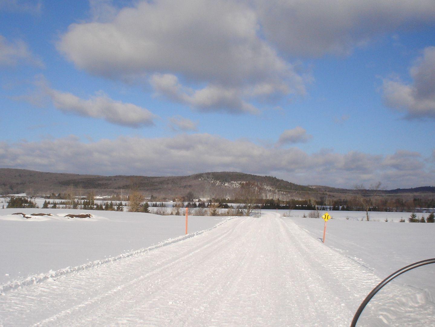 photo ride-report Joliette/Mattawin sentier #360+retour par la #3 18 février 2012 DSC01460
