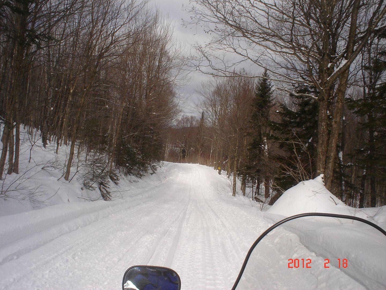 photo ride-report Joliette/Mattawin sentier #360+retour par la #3 18 février 2012 DSC01491