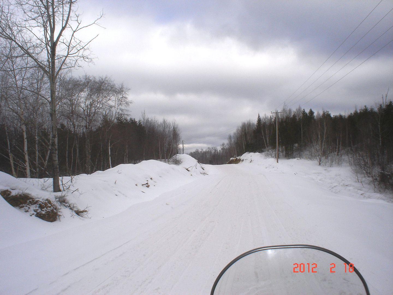 photo ride-report Joliette/Mattawin sentier #360+retour par la #3 18 février 2012 DSC01515