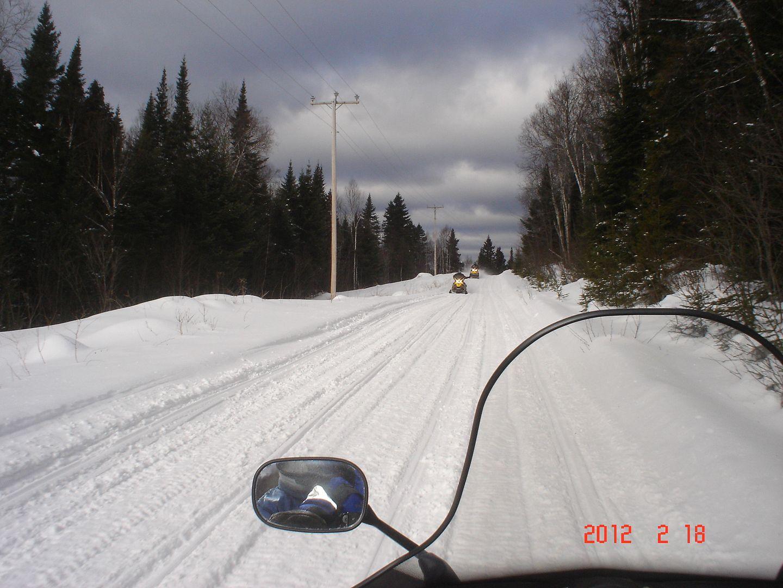 photo ride-report Joliette/Mattawin sentier #360+retour par la #3 18 février 2012 DSC01519