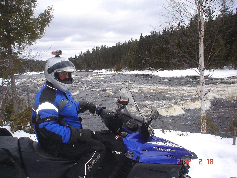 photo ride-report Joliette/Mattawin sentier #360+retour par la #3 18 février 2012 DSC01574