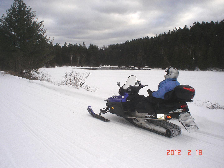 photo ride-report Joliette/Mattawin sentier #360+retour par la #3 18 février 2012 DSC01588