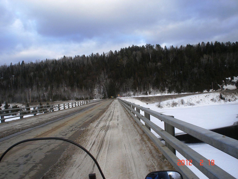 photo ride-report Joliette/Mattawin sentier #360+retour par la #3 18 février 2012 DSC01619