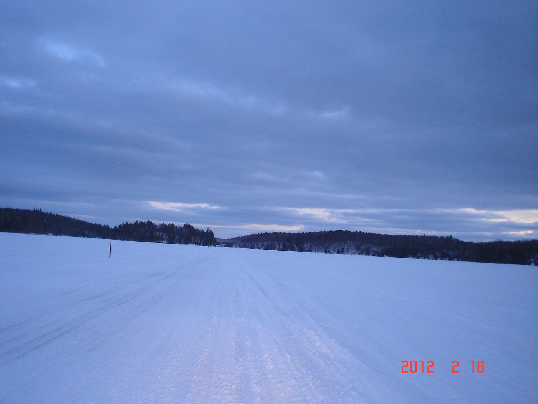 photo ride-report Joliette/Mattawin sentier #360+retour par la #3 18 février 2012 DSC01658