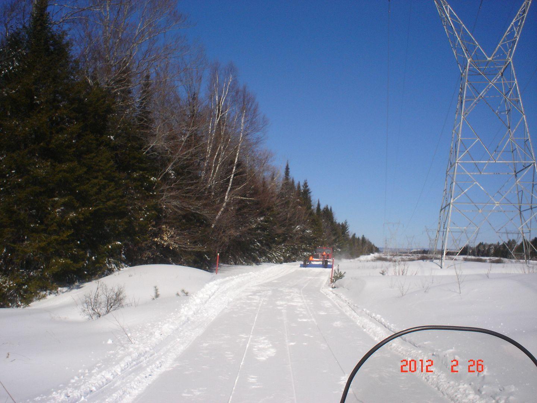 Photo ride-report Joliette/St-Tite sentier#3 et #23 26 février 2012 DSC01741