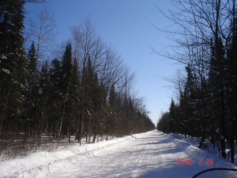 Photo ride-report Joliette/St-Tite sentier#3 et #23 26 février 2012 DSC01745