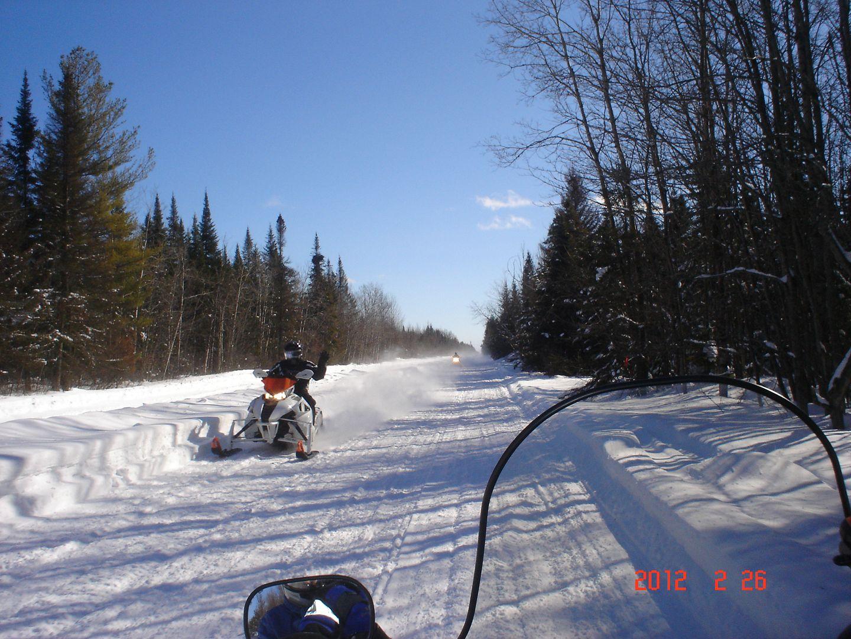 Photo ride-report Joliette/St-Tite sentier#3 et #23 26 février 2012 DSC01779