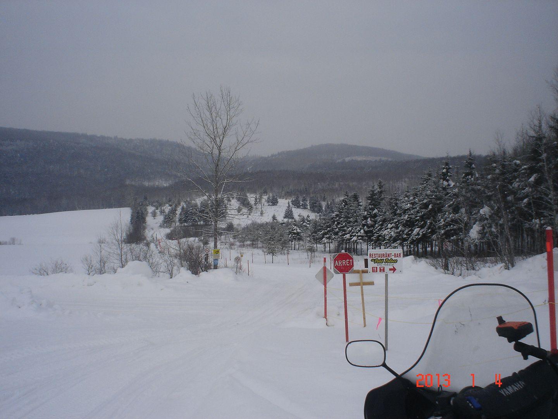Trois-Rivières/La Tuque/Lac Édouard/St-Raymond photo ride-report 4-5 janvier 2013 DSC04568