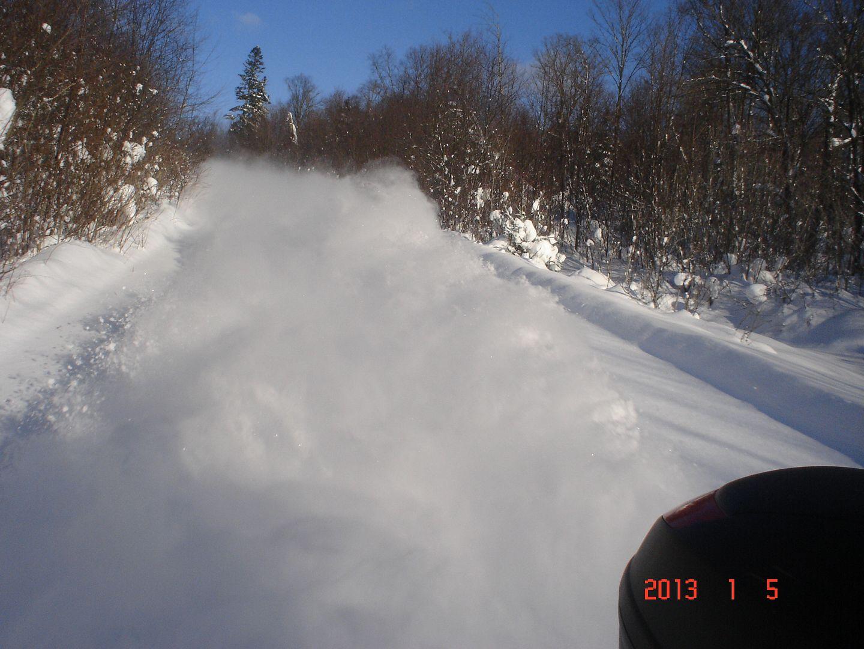Trois-Rivières/La Tuque/Lac Édouard/St-Raymond photo ride-report 4-5 janvier 2013 DSC04685