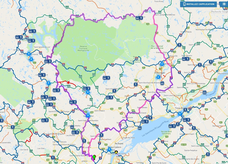 Joliette/Grand-Mère/Rivière Mattawin/St-Zénon/Joliette le grand tour photo ride-report 9février2019 Carte_zpsxkdt24wc