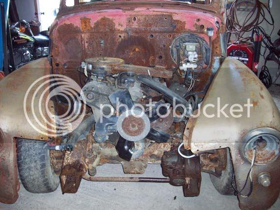 My 53/54 Chevy/Gmc build 4cyl