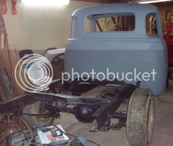 My 53/54 Chevy/Gmc build Backprimer