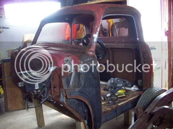 My 53/54 Chevy/Gmc build Cab