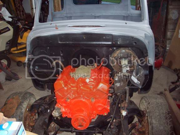 My 53/54 Chevy/Gmc build Frontprimer
