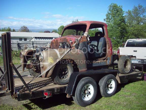 My 53/54 Chevy/Gmc build Truck2