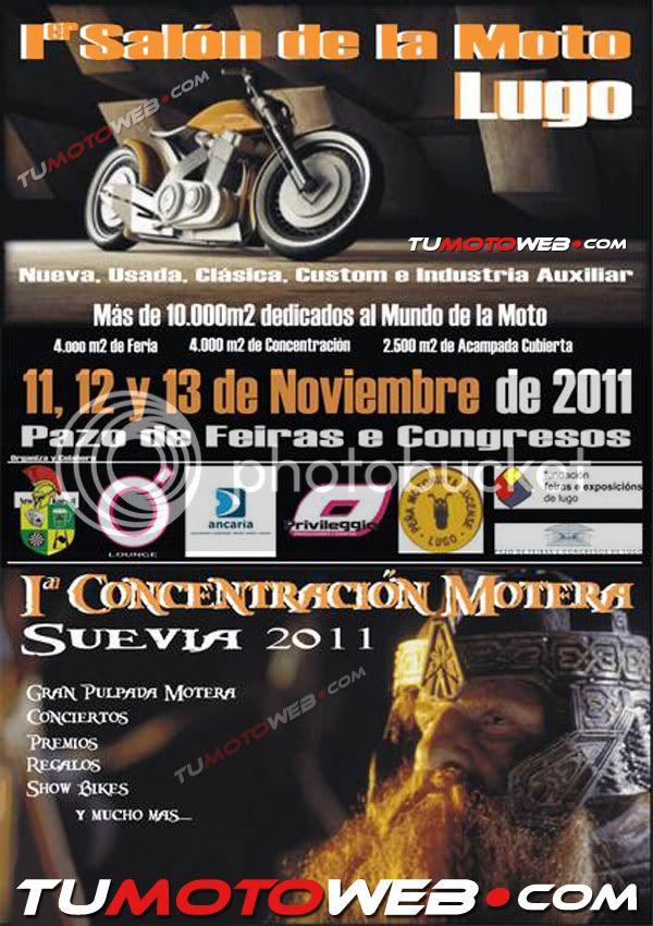 Ier Salón de la Moto y Iª Concentración Suevia 2011 en Lugo- 11 al 13 de Noviembre Cartel600-SueviaLugo11