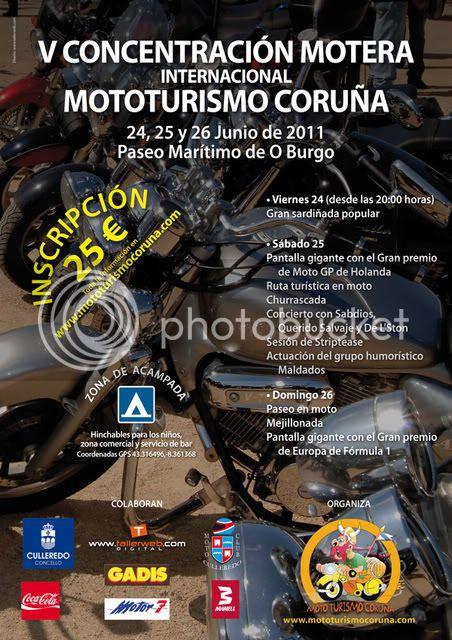 Concentración Coruña 24,25 y 26 Cartel110517600