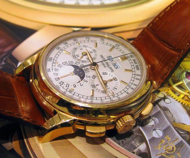 Historique des chronos Patek Philippe à QP et revue du chrono QP 5970 5970_6