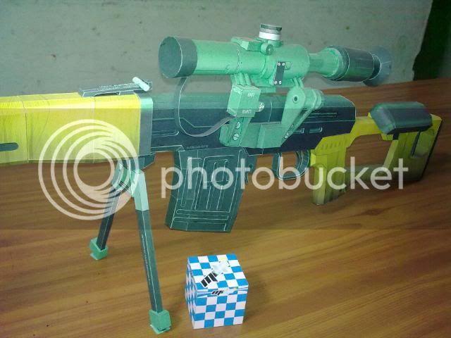 Rifle Dragunov - paper-replika 23092010116