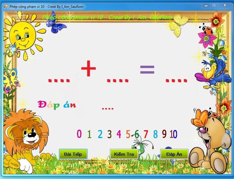 Project Phần mềm dạy toán cho Lớp 1 PrtScrcapture-1
