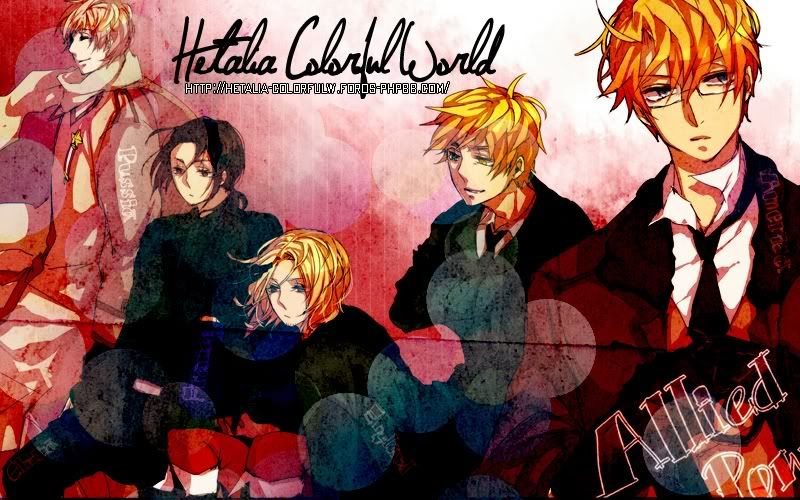 Hetalia Colorful World