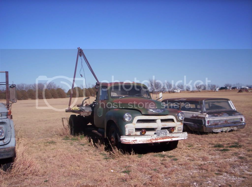 Old Photo Tow Truck Wtruck