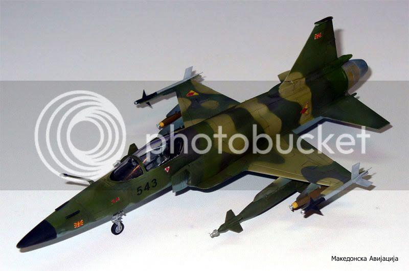 Историја на авионот F-20 во Македонското ВВ F-20-12-1