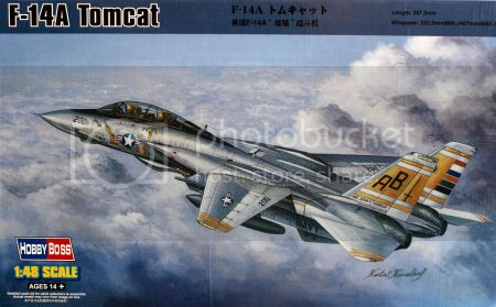F-14A VF-84 Jolly Rogers, Hobby Boss 1/48 Hb_80366_title