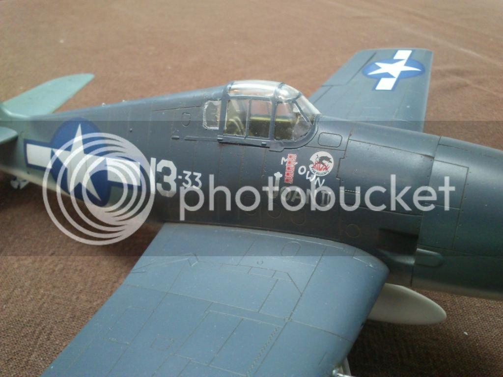 F6F-3 Hellcat, Eduard 1/48, Weekend DSC_8367