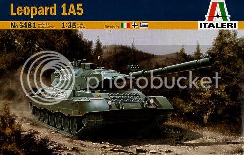 Leopard 1A5, ΕΣ   Italeri 1/35 IT06481