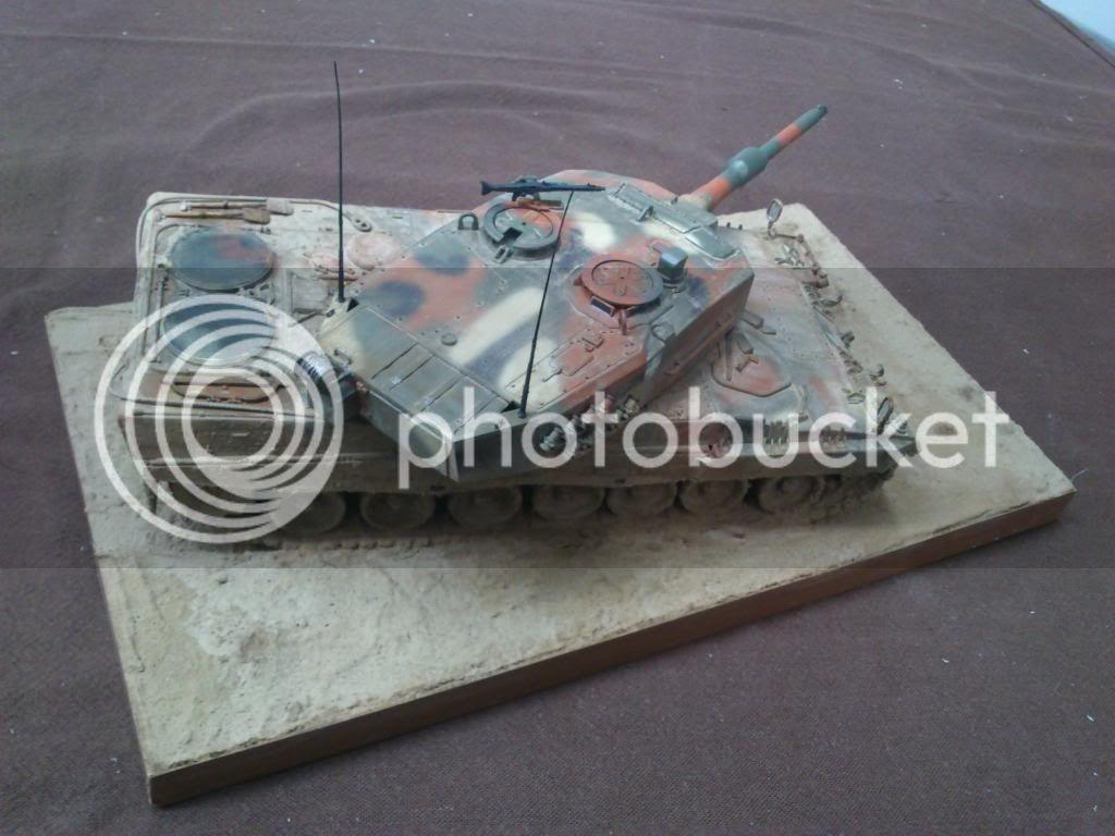 Leopard 2A4, ΕΣ,   Italeri 1/35 DSC_7645