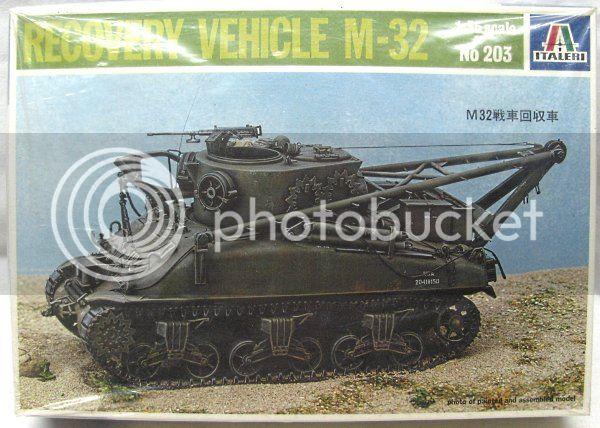 M32 Recovery Vehicle, Italeri 1/35 Italeri%20203%20M32
