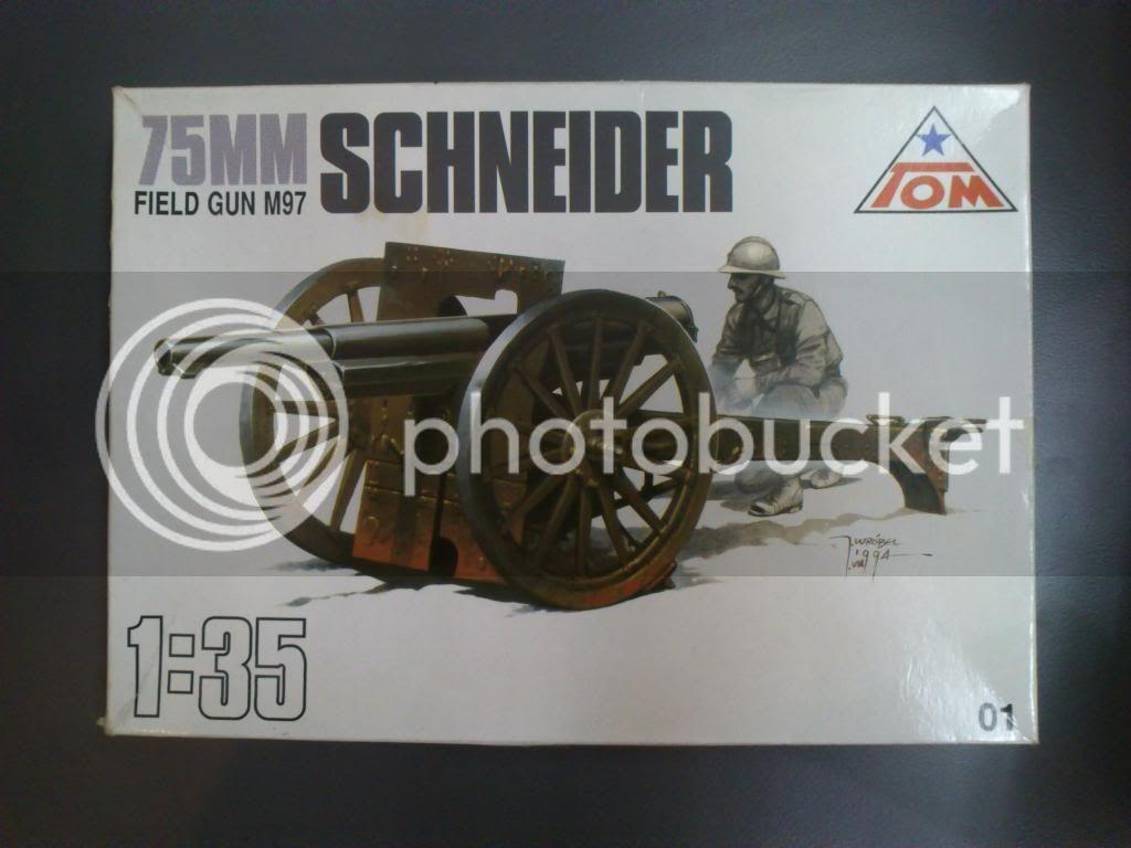 Πεδινό πυροβόλο Schneider 75mm M97, TOM 1/35 DSC_09572