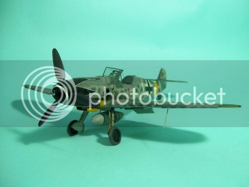 Messerschmitt 109 G-6 1/48 Erich Hartmann Tulipan Negro ASdeASES1