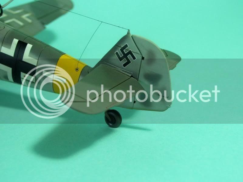 Messerschmitt 109 G-6 1/48 Erich Hartmann Tulipan Negro ASdeASES12