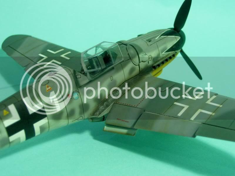 Messerschmitt 109 G-6 1/48 Erich Hartmann Tulipan Negro ASdeASES14