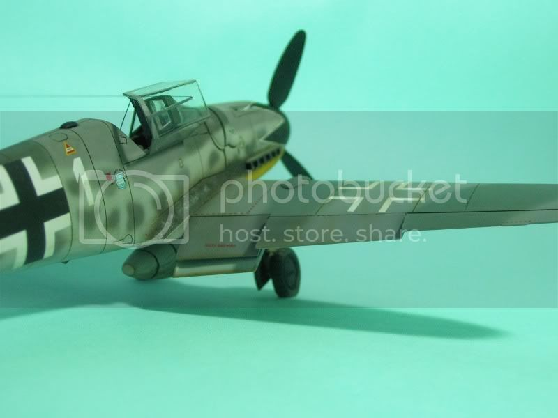 Messerschmitt 109 G-6 1/48 Erich Hartmann Tulipan Negro ASdeASES17