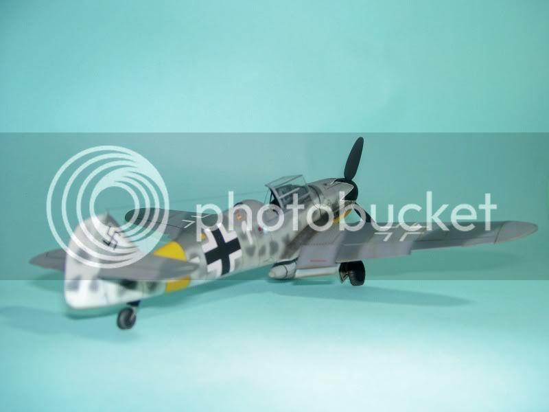 Messerschmitt 109 G-6 1/48 Erich Hartmann Tulipan Negro ASdeASES18