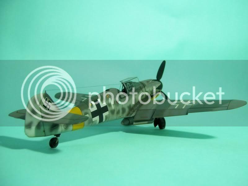 Messerschmitt 109 G-6 1/48 Erich Hartmann Tulipan Negro ASdeASES19