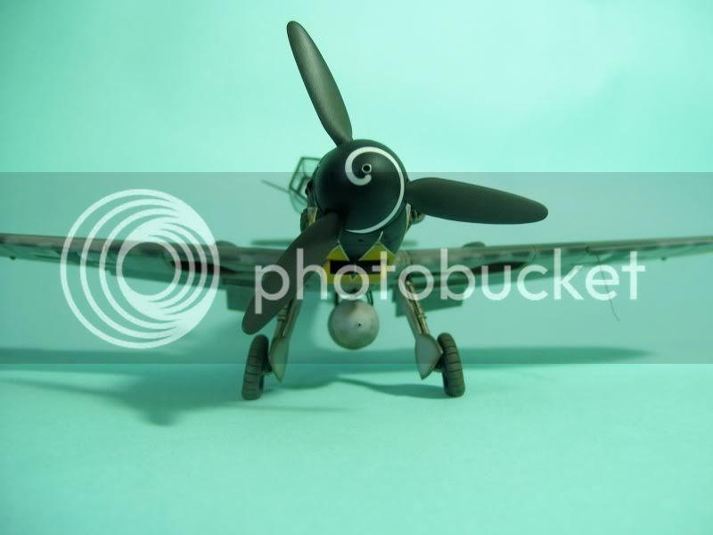 Messerschmitt 109 G-6 1/48 Erich Hartmann Tulipan Negro ASdeASES2