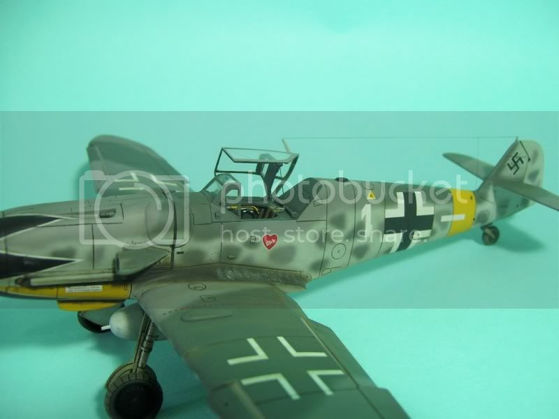 Messerschmitt 109 G-6 1/48 Erich Hartmann Tulipan Negro ASdeASES4